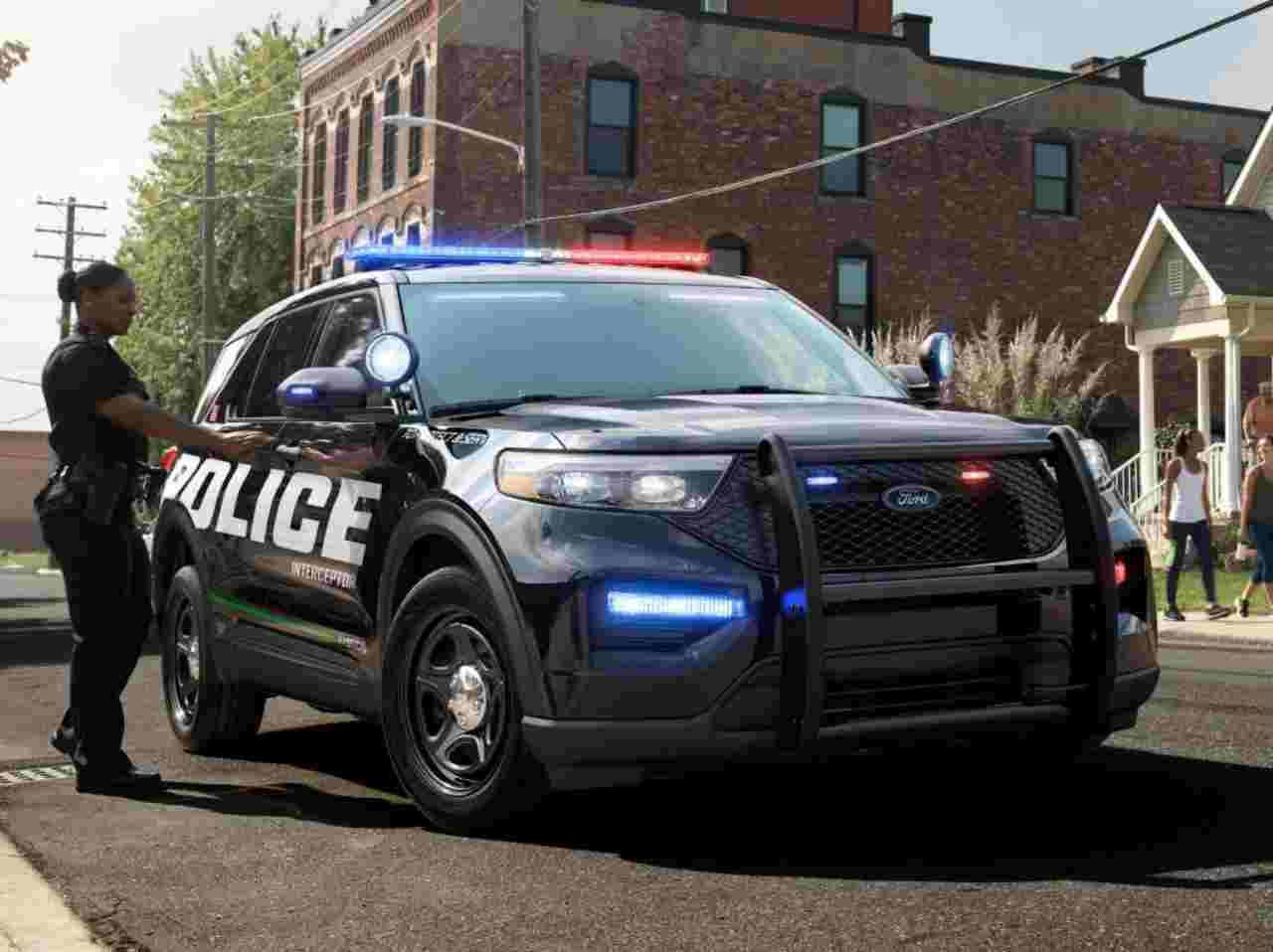 Il Police Interceptor Utility in dotazione agli agenti USA