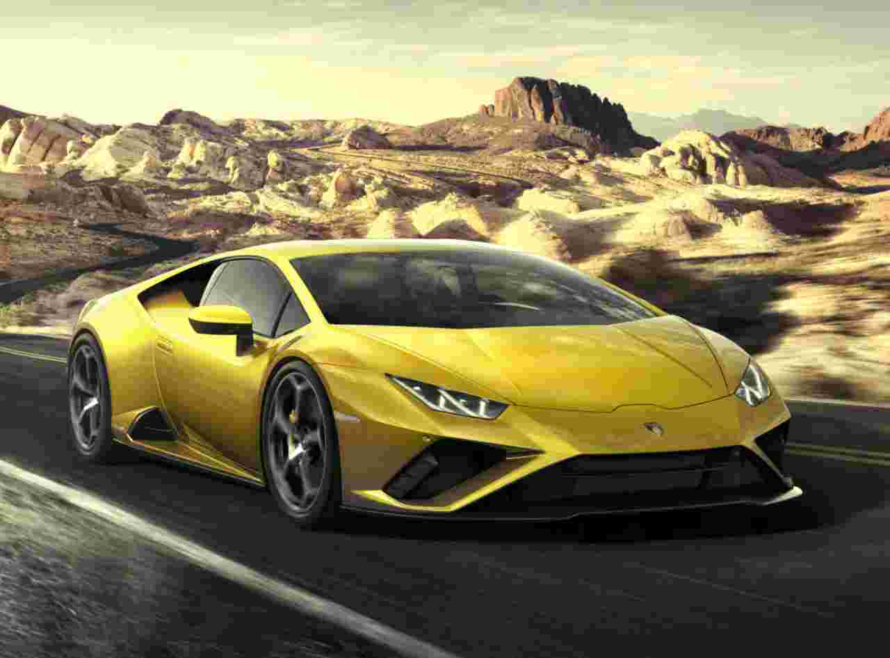 Lamborghini Huracán Evo Rwd Spyder: 610 Cv a cielo aperto