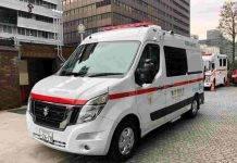 Nissan, presentata in Giappone la prima ambulanza a zero emissioni