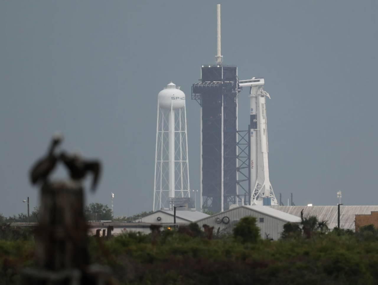SpaceX: il lancio è stato posticipato a causa del maltempo