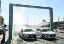 Al via la sterilizzazione automatica delle auto in Arabia Saudita