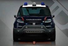 fiat panda 2020 carabinieri