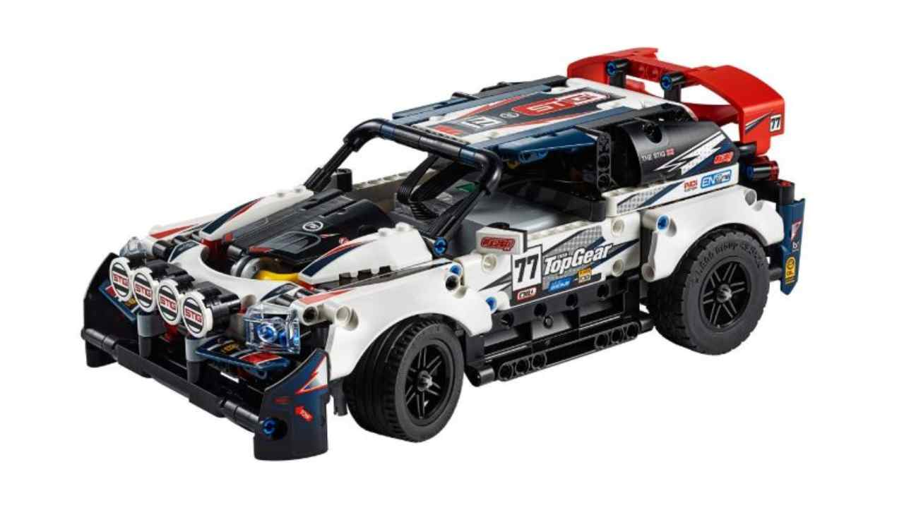 Auto da Rally Top Gear telecomandata Lego