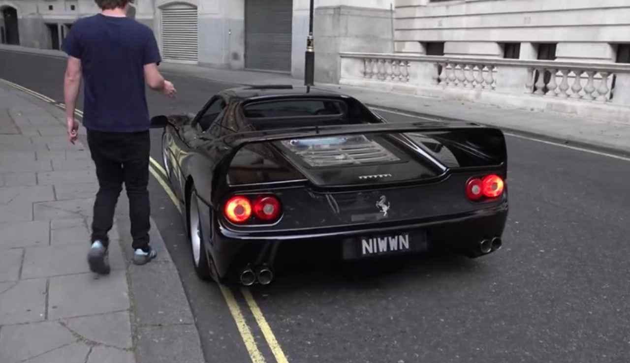 Ferrari F50 black Londra