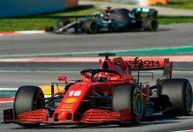 Ferrari e Mercedes Test