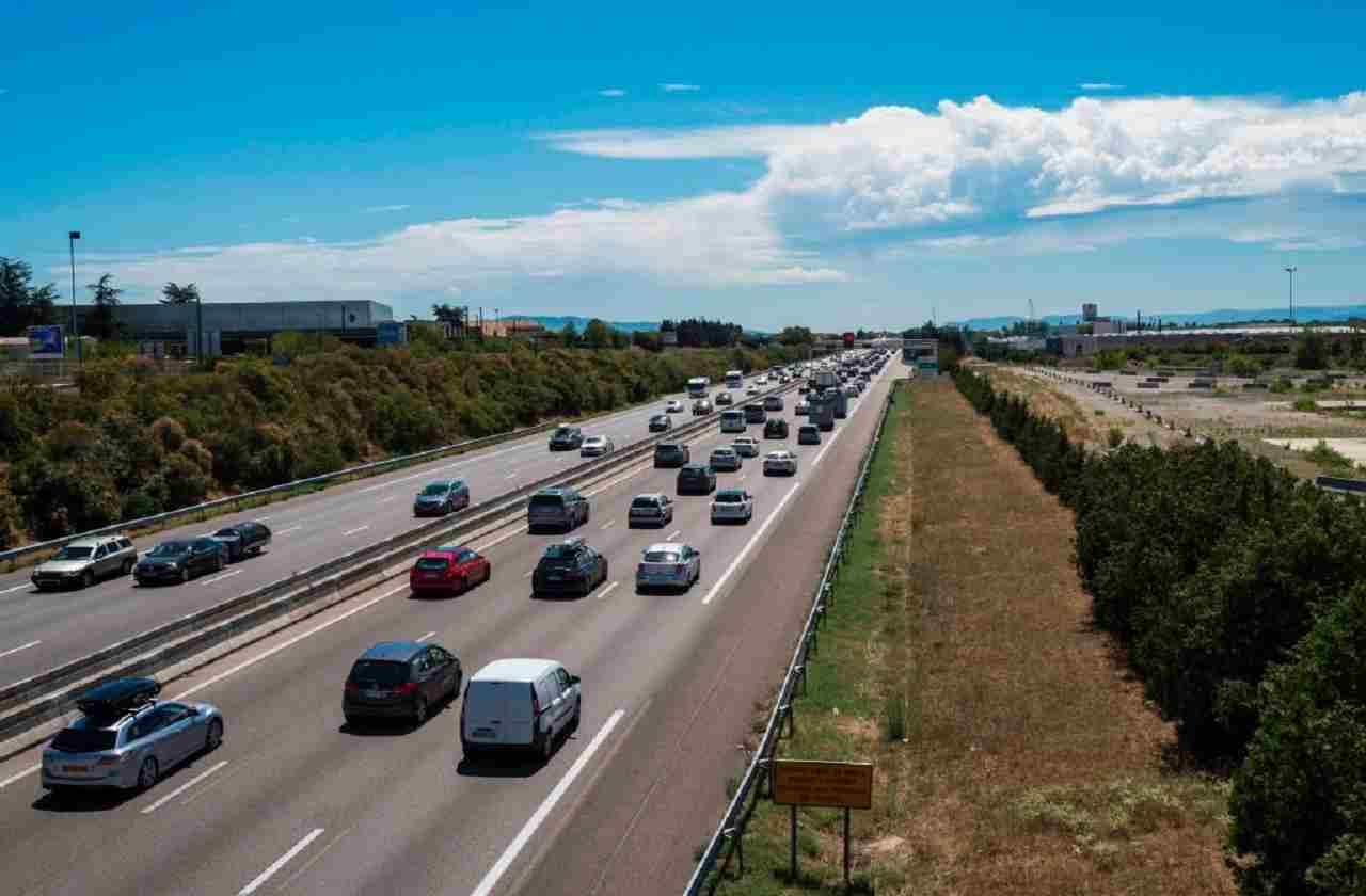 Autostrada francese