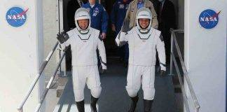 Astronauti SpaceX portafortuna