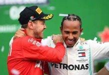 Vettel in Mercedes
