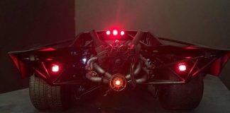 Batmobile, la concept car per il nuovo film di Batman - Foto