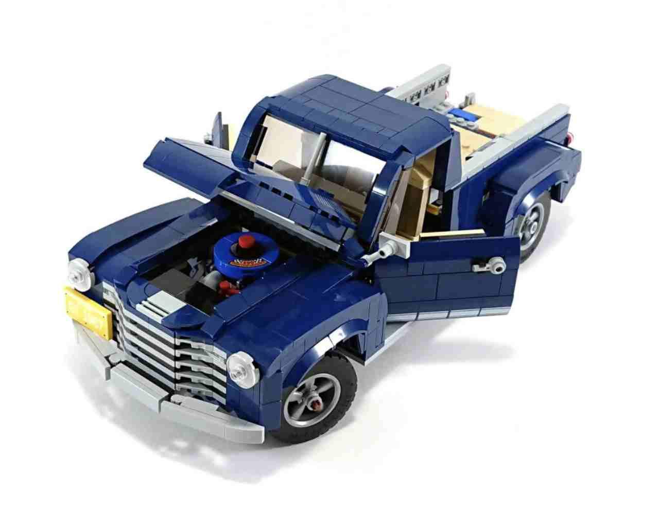 Lego, la guida per trasformare la Ford Mustang