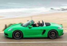 Porsche 718 Boxter, disponibile con nuove dotazioni nel 2021