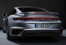 Porsche 911 Turbo S, l'impressionante test al Sachsenring - Video