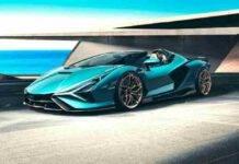 Lamborghini Sian Roadster, una supercar da 3 milioni: potenza e velocità massima