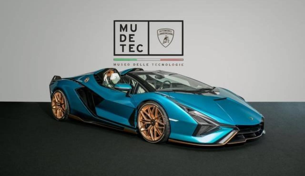 Lamborghini Sian Roadster Museo