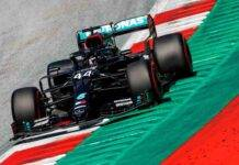 Lewis Hamilton F1 GP Austria