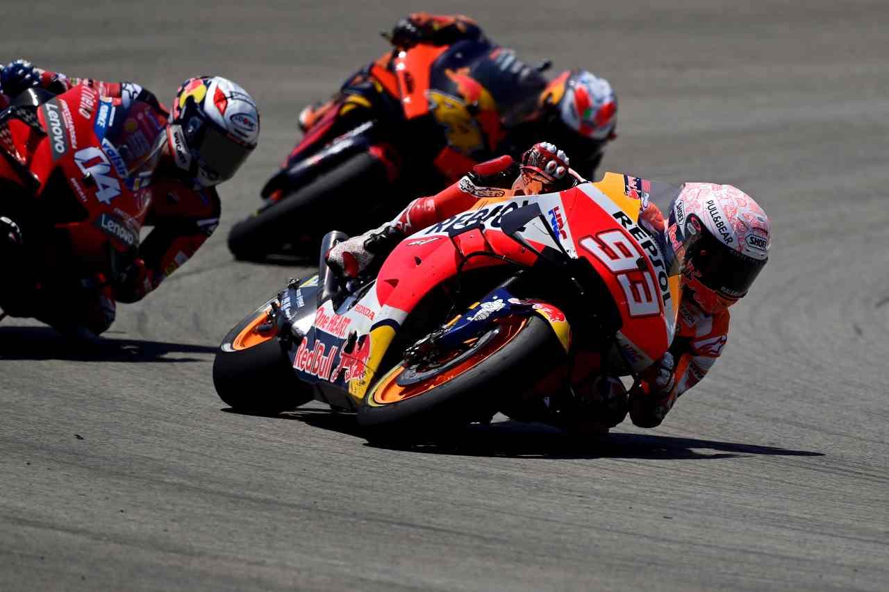 MotoGP Andalusia prove venerdì