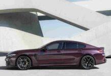 BMW M8 Gran Coupe Competition, sfida alla Porsche Taycan Turbo S - Video