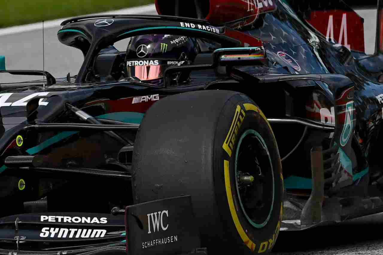 La Mercedes W11W11 con cui Toto Wolff insegue il settimo titolo costruttori da team principal