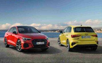 Audi S3 Berlina e Audi S3 Sportback