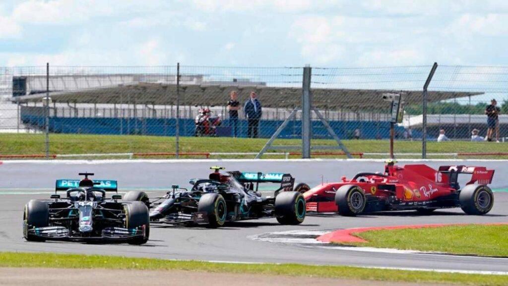 Hamilton il più veloce nelle libere del GP del 70° Anniversario
