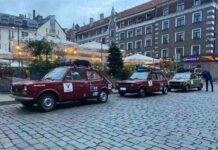 Fiat 127 impresa Capo Nord