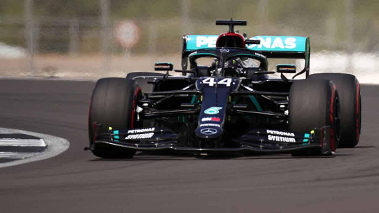 GP Silverstone Hamilton