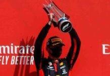 GP SIlverstone, Verstappen