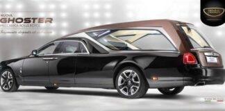 Rolls Royce Ghoster, il carro funebre più lussuoso e costoso