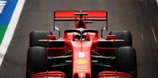 GP Silverstone: Vettel, guasto nelle libere. Grossa perdita d'olio sulla Ferrari