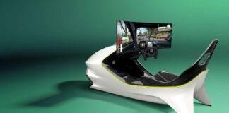 Aston Martin simulatore AMR-C01