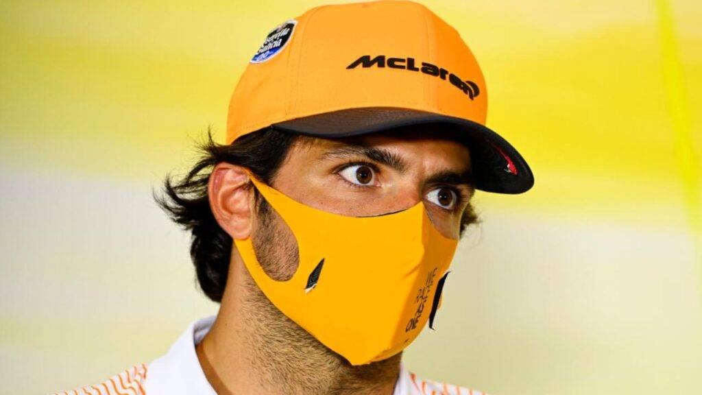 Carlos Sainz McLaren Ferrari