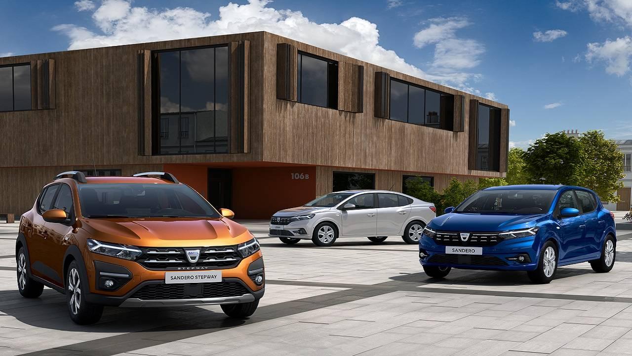 Dacia Sandero, Stepway e Logan