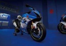 Suzuki GSX-R1000, la livrea speciale per l'anniversario - Video