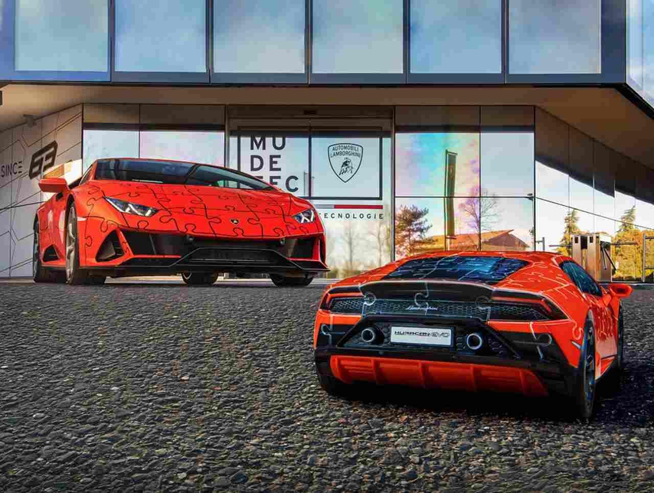 Lamborghini Puzzle