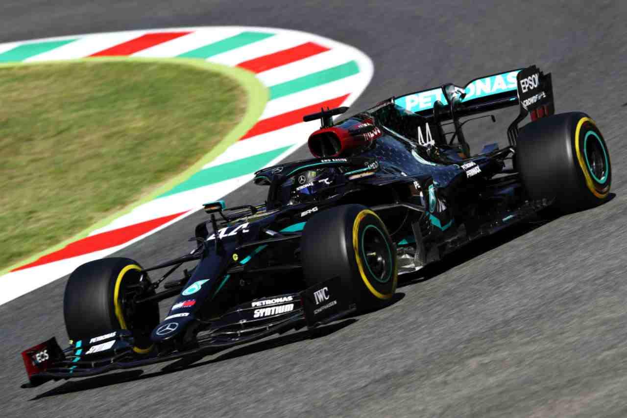 Lewis Hamilton Mercedes F1 GP Mugello