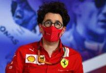 Mattia Binotto Ferrari F1