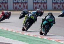 Valentino Rossi Franco Morbidelli Misano MotoGP