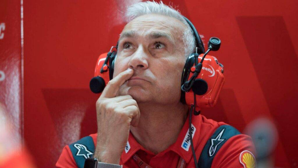 Davide Tardozzi MotoGP Ducati