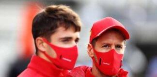 Charles Leclerc Sebastian Vettel GP Mugello