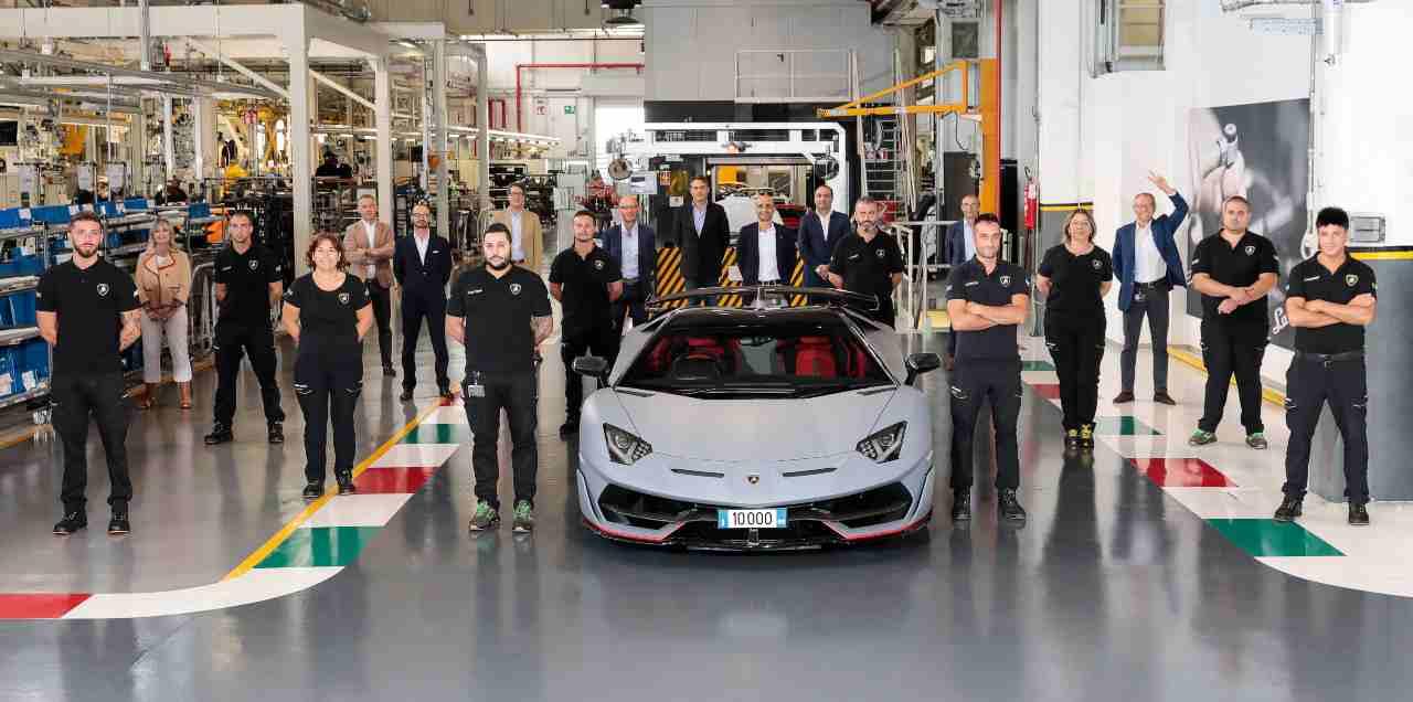 Lamborghini Aventador, le ultime evoluzioni