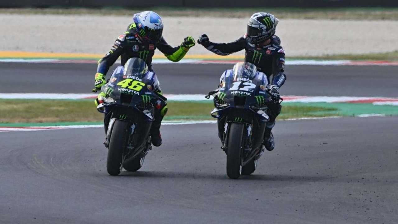 Rossi Vinales MotoGP Misano