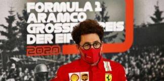 Mattia Binotto F1 Ferrari