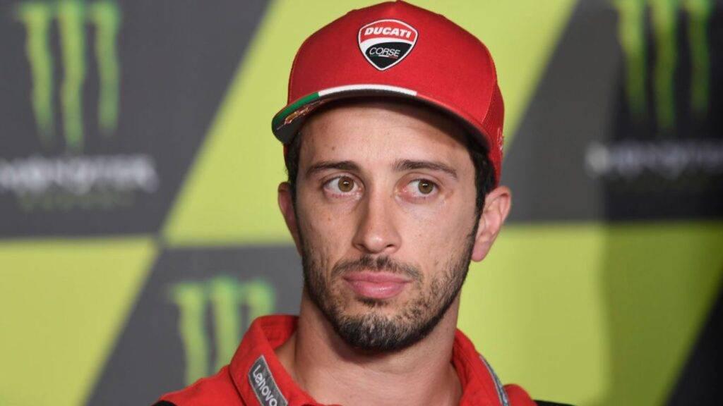 Dovizioso tester MotoGP Suzuki
