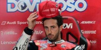 Andrea Dovizioso MotoGP tester