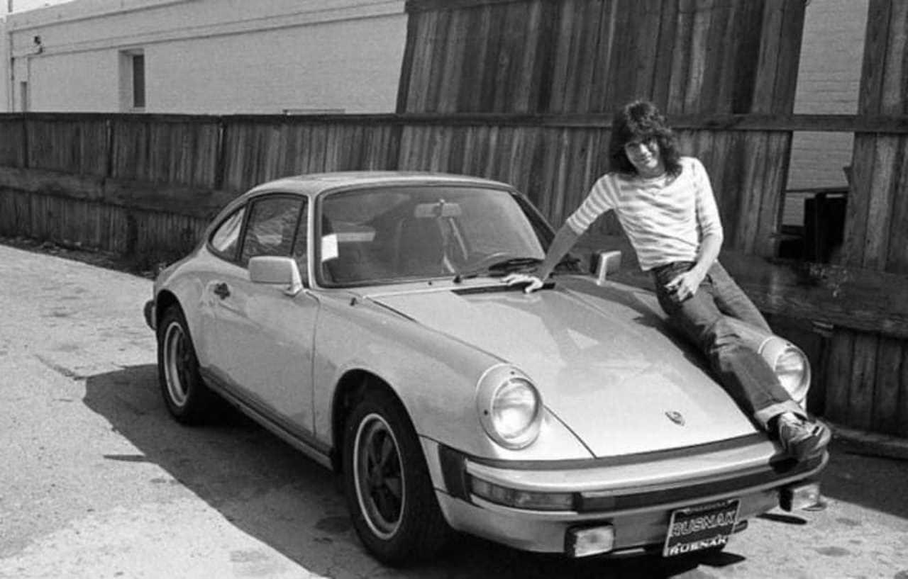 Eddie Van Halen auto