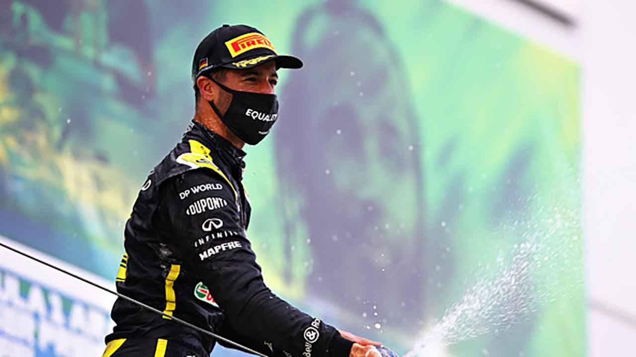 F1, GP Eifel. Ricciardo: