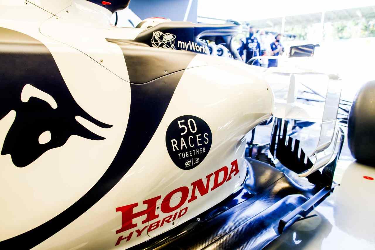 Honda lascia la F1