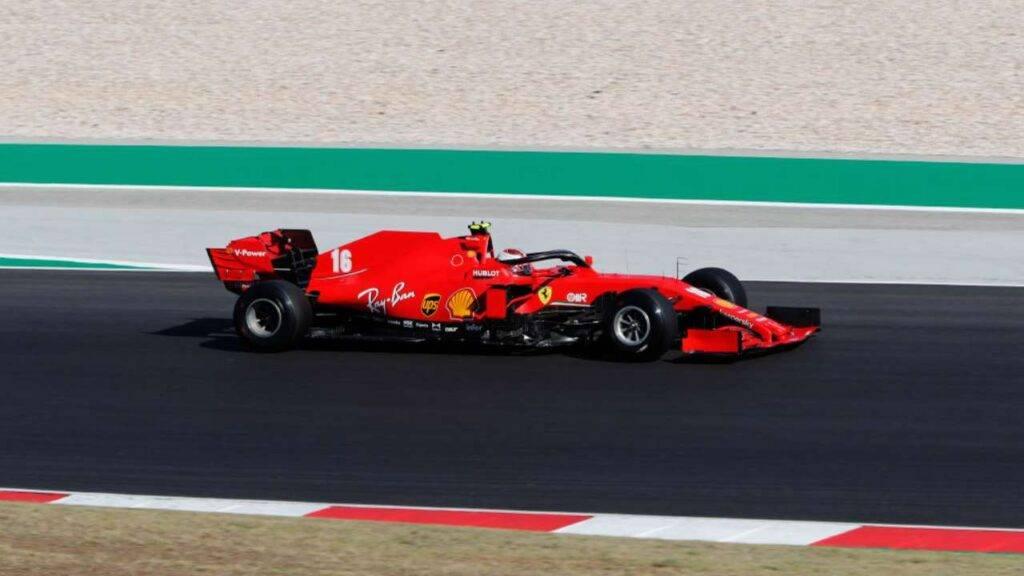 Charles Leclerc F1 Portogallo