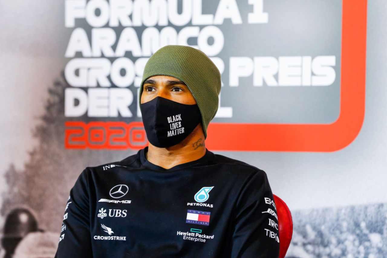 Lewis Hamilton F1 GP Nurburgring
