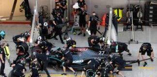 Team Mercedes F1 positivo Covid 19